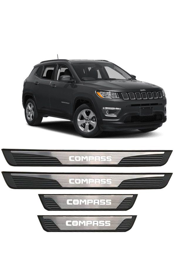 Soleira de Porta de LED Jeep Compass