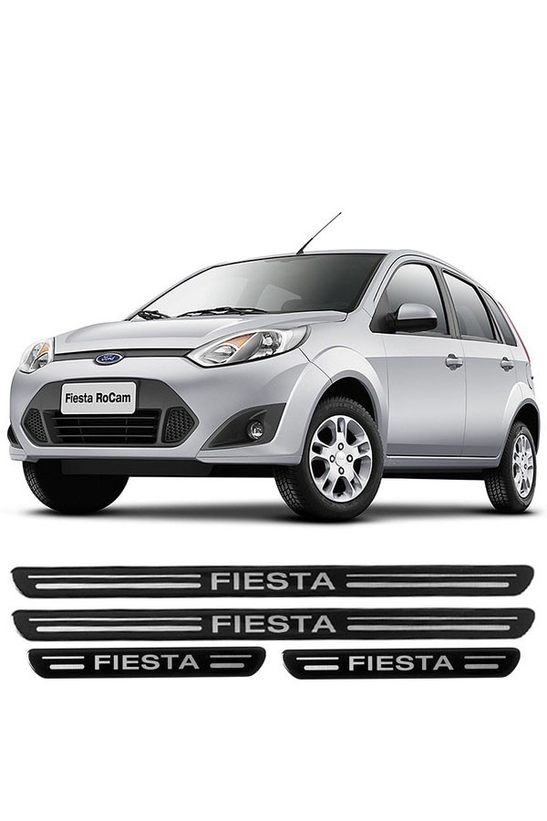 Soleira de Porta Resinada Ford Fiesta  - Só Frisos Ltda