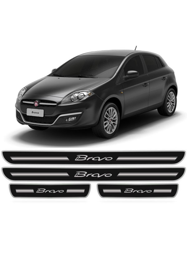 Soleira de Porta Resinada Fiat Bravo  - Só Frisos Ltda