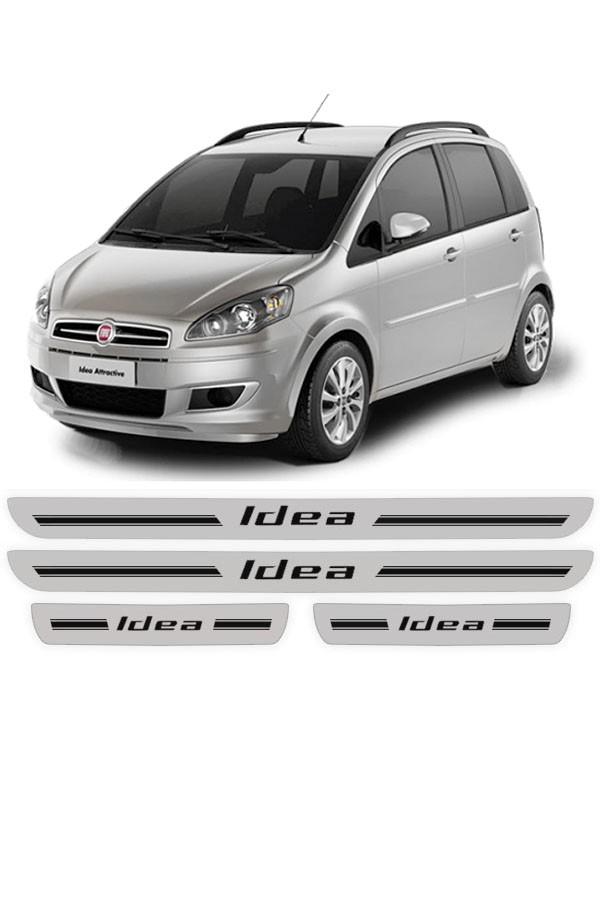 Soleira de Porta Resinada Fiat Idea  - Só Frisos Ltda