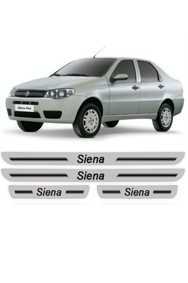 Soleira de Porta Resinada Fiat Siena  - Só Frisos Ltda