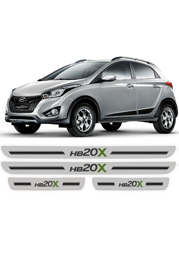 Soleira de Porta Resinada Hyundai HB20x