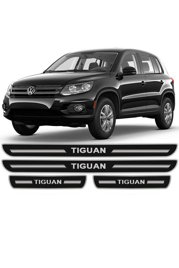 Soleira de Porta Resinada Volkswagen Tiguan  - Só Frisos Ltda
