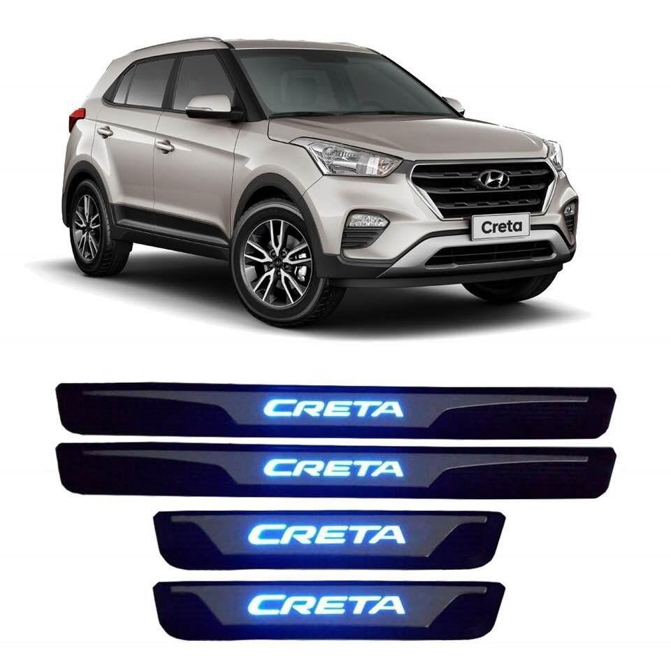 Soleira de Pota de LED Hyundai Creta