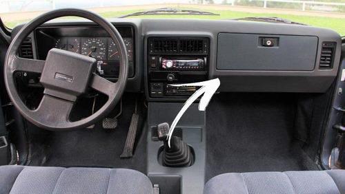 Tampa Porta Luvas Original Chevrolet Opala 1985 Até 1992  - Só Frisos Ltda