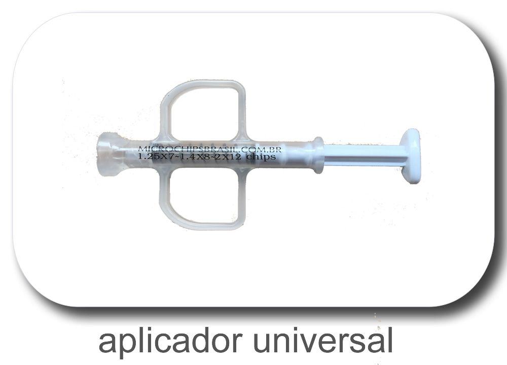 APLICADOR DE MICROCHIP RETRÁTIL REUTILIZÁVEL UNIVERSAL (COM MOLA)