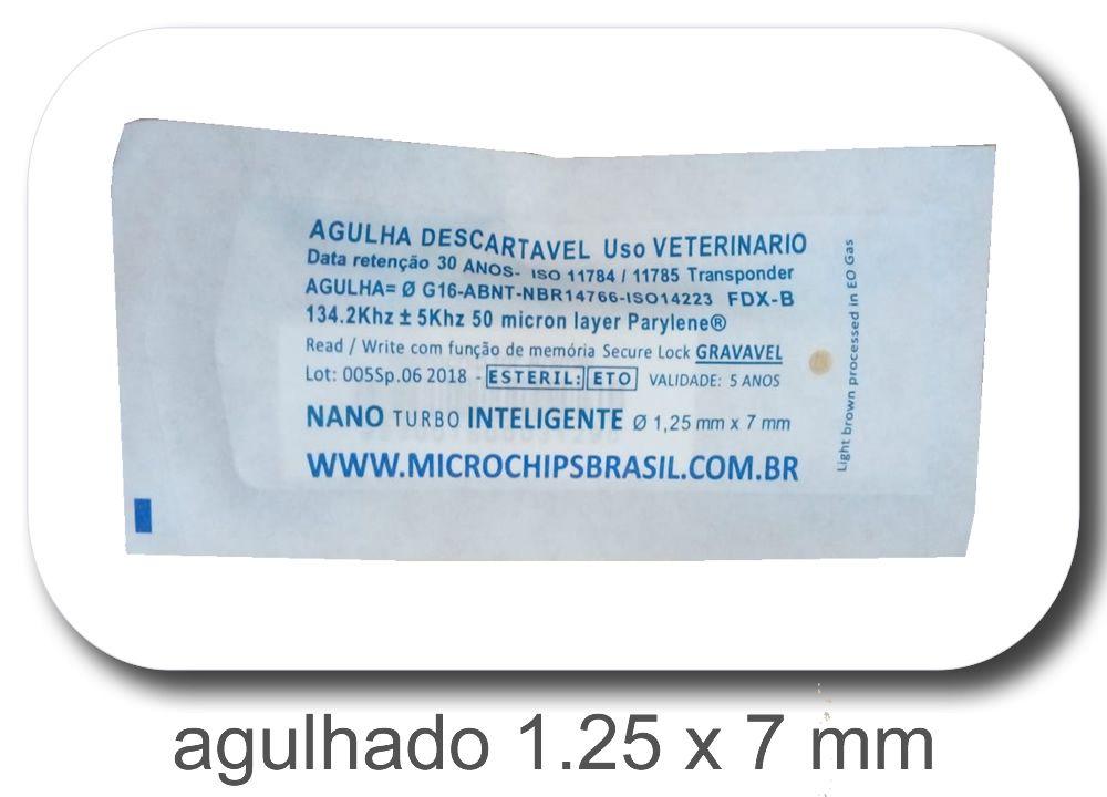 Nano Chip Agulhado 1.25 x 7 mm (Não Acompanha Aplicador/Uso exclusivo com Aplicador Universal)