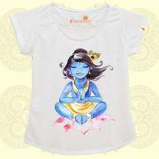 Camiseta Krishna na Lotus