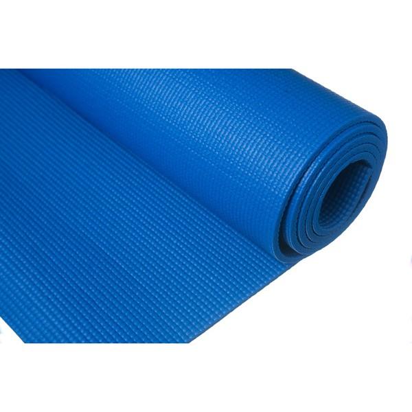 Tapete de Yoga - PVC Azul Royal 5mm *Frete Grátis Para Todo o Brasil*