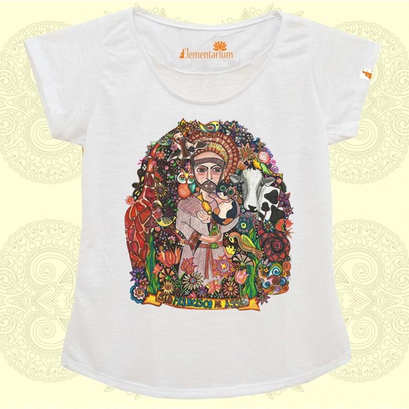 Camiseta São Francisco de Assis - D. Chiara