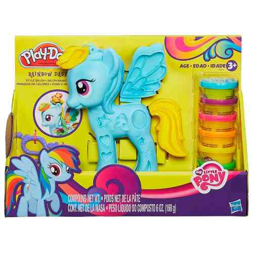 Massinha Play Doh Little Pony Rainbow Dash - Hasbro