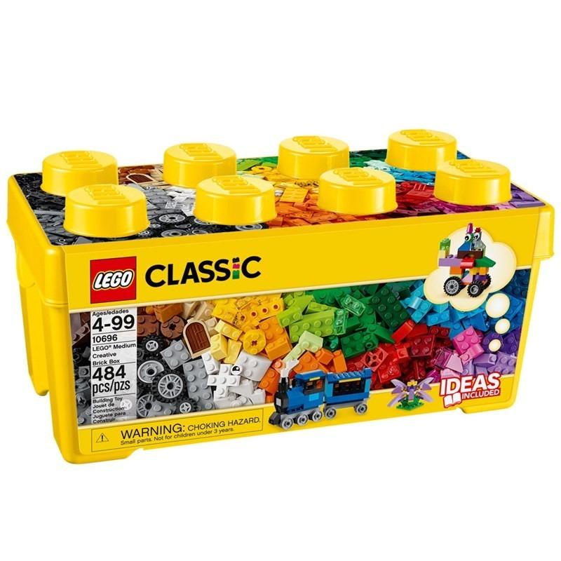 Lego 10696 – Classic Caixa Media 484 Peças Criativa + Livro Ideias