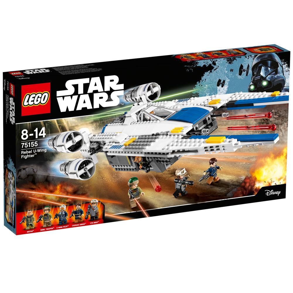 Lego 75155  – Star Wars- U-Wing Fighter Rebelde – 659 pç