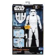 Boneco Star Wars Interactech Stormtrooper Som e luz - Hasbro