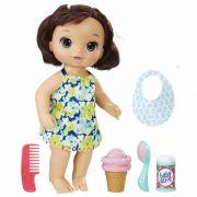 Boneca Baby Alive Sobremesa Mágica Morena- Hasbro