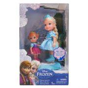 Frozen Disney Patinadora Elsa 15 Cm + Anna 10 Cm - Sunny