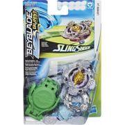 Bey Blade Burst Turbo Sling Shock – 2 modos batalha - Lúinor L4 Hasbro