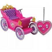 Carruagem Mágica Princesas Controle Remoto 7 Funções 30 cm - Candide