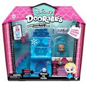 Doorables Disney Playset Castelo Gelo Da Frozen Com Personagem DTC