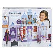 Frozen 2 Playset Castelo de Arendelle Maleta Portátil 78 cm - Hasbro