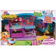 Hamster Mercado - Hamsters In A House - Com 1 Hamster e Acessorios - Candide
