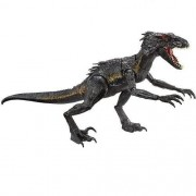 Jurassic Word Dino Vilão Indoraptor - Super Articulado 30cm -  Mattel