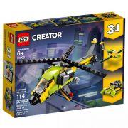 Lego 31092 Creator - 3 Em 1 – Helicópteros De Aventura – 114 peças