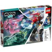 Lego 70421 Hidden Side - Caminhão de Acrobacias do El Fuego Com APP – 428 peças