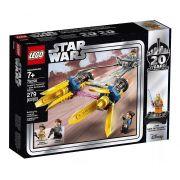 Lego 75258 Star Wars Podracer de Anakin - Edição de 20-Aniversário – 279 peças