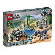 Lego 75935 Jurassic World Confronto Baryonyx Caça ao Tesouro - 434 peças