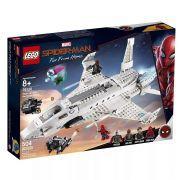 Lego 76130 Spider-Man Longe de Casa – Jato Stark Ataque de Drones – 504 peças