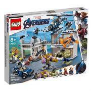 Lego 76131 Avengers Ultimato - Combate No Quartel dos Vingadores - 699 peças