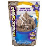 Massa Areia Para Modelar  Kinetic Sand Marrom 1,36 kg - Sunny