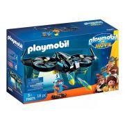 Playmobil 70071 O Filme - Robotitron Com Drone - Sunny