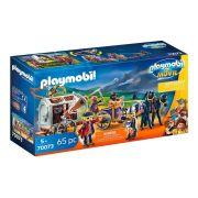 Playmobil 70073 O Filme - Charlie Com Charrete Prisão e Piratas - Sunny