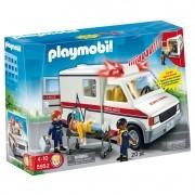 Playmobil City Action Ambulância Luz e Som Com 20 peças