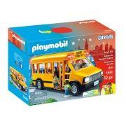 Playmobil Ônibus Escolar City Life C/ 12 Peças Sunny