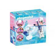 Playmobil 9350 - Princesa Cristal No Gelo Com APP Playmogram 3D - Sunny