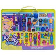 Polly Pocket - Super Kit Fashion – 4 bonecas e Acessorios – Mattel