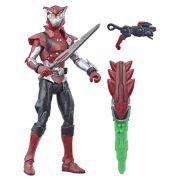 Power Rangers Beast Morphers - Cybervillain Blaze Deluxe Articulado 15 cm- Hasbro