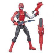 Power Rangers Beast Morphers - Red Ranger Deluxe Articulado 15 cm- Hasbro