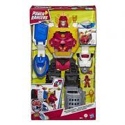 Power Rangers Sabans – Megazord Gigante Morfador 63 cm Som E luz – 2 em 1 Zord e Animal – Hasbro