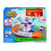 Super Wings Torre de Controle + Jett + Jimbo - Fun