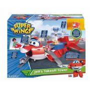 Super Wings Torre de Decolagem do Jett  Gigante 2 em 1 - Fun