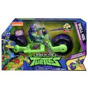 Tartarugas Ninja Ascensão – Veículo Moto Shell Hog Com Boneco Donatello - Sunny