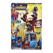 Vingadores Hulkbuster Quartel General 83cm - 2 em 1- Hasbro