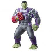 Vingadores Ultimato Hulk Power Punch Eletrônico Luxo 35 cm Com Som e Luz - Hasbro