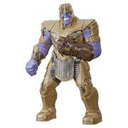 Vingadores Ultimato Thanos Power Punch Eletrônico Luxo 35 cm Com Som e Luz - Hasbro