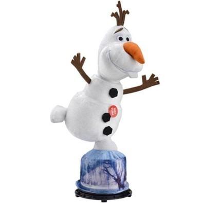 Pelúcia Frozen Olaf Gira E Fala Português - 35cm - Multikids