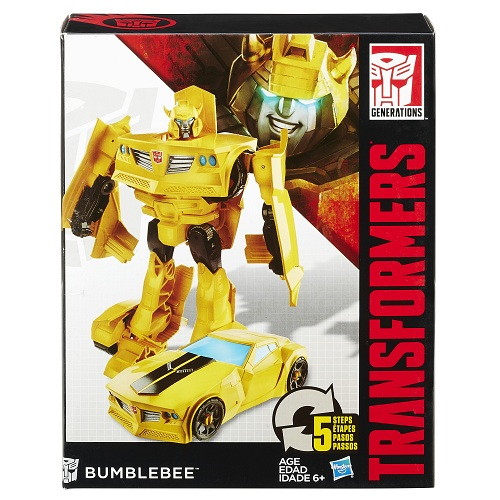 Transformers  Generations Cyber  Bumblebee 17cm - Hasbro